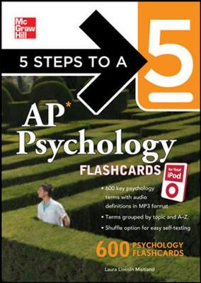 5 Steps to a 5 AP Psychology for your iPod with MP3 Disk - 5 Steps to a 5 on the Advanced Placement Examinations (Book)