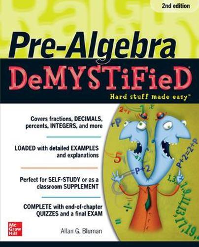 Pre-Algebra DeMYSTiFieD, Second Edition - Demystified (Paperback)