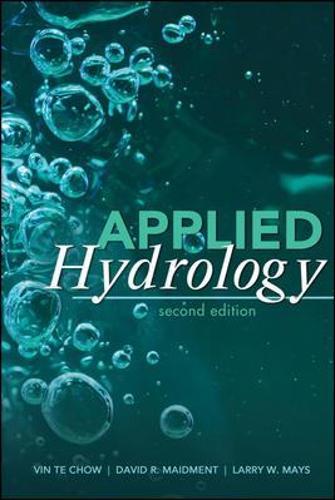 Applied Hydrology (Hardback)