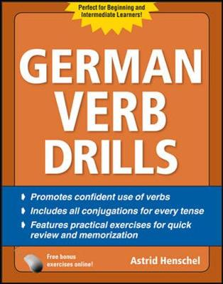 German Verb Drills - Drills Series (Paperback)