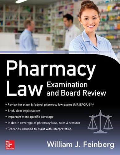 Pharmacy Law Examination and Board Review (Paperback)