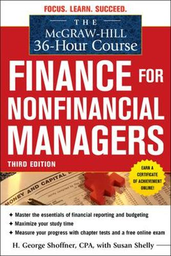 The McGraw-Hill 36-Hour Course: Finance for Non-Financial Managers 3/E - McGraw-Hill 36-Hour Courses (Paperback)