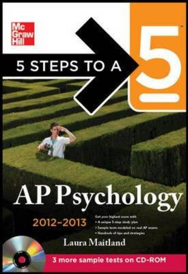 5 Steps to a 5 AP Psychology 2012-2013 - 5 Steps to a 5 on the Advanced Placement Examinations