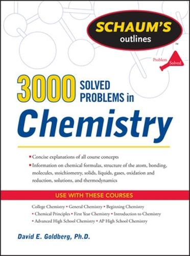3,000 Solved Problems In Chemistry (Paperback)