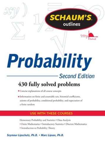 Schaum's Outline of Probability, Second Edition (Paperback)