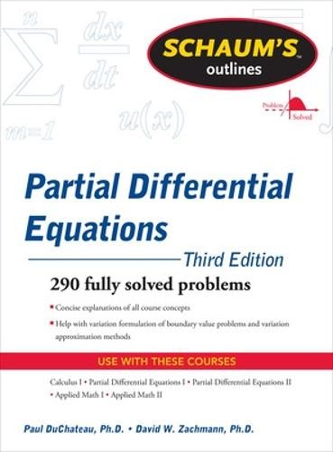 Schaum's Outline of Partial Differential Equations (Paperback)