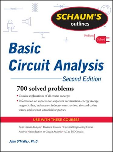 Schaum's Outline of Basic Circuit Analysis, Second Edition (Paperback)