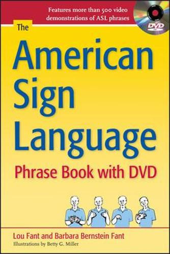 The American Sign Language Phrase Book with DVD (Book)