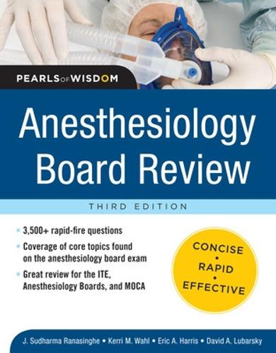 Anesthesiology Board Review Pearls of Wisdom 3/E (Paperback)