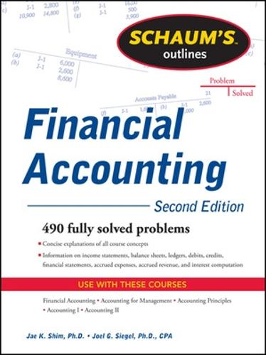 Schaum's Outline of Financial Accounting (Paperback)