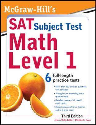 McGraw-Hill's SAT Subject Test Math Level 1 (Paperback)