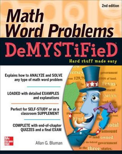 Math Word Problems Demystified 2/E - Demystified (Paperback)