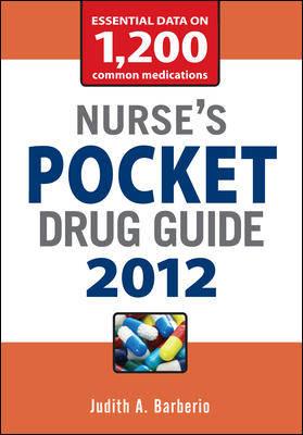 Nurse's Pocket Drug Guide 2012 2012 (Paperback)