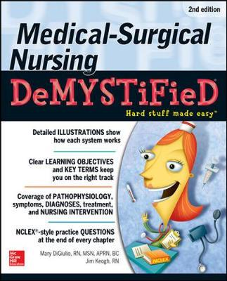 Medical-Surgical Nursing Demystified, Second Edition (Paperback)