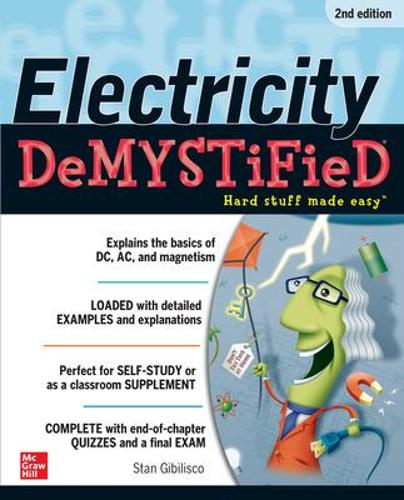 Electricity Demystified, Second Edition - Demystified (Paperback)