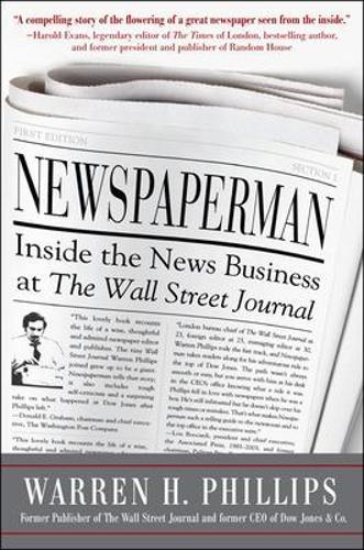 Newspaperman: Inside the News Business at the Wall Street Journal (Hardback)