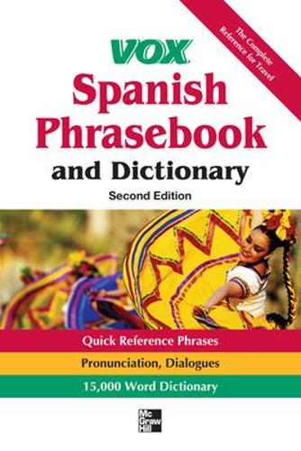 Vox Spanish Phrasebook and Dictionary (Paperback)
