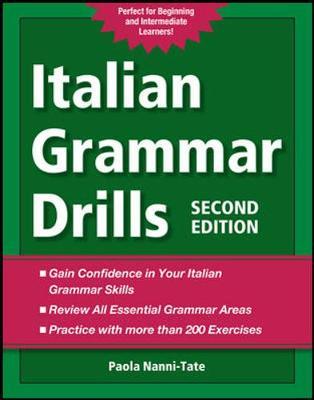 Italian Grammar Drills (Paperback)
