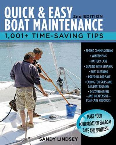 Quick and Easy Boat Maintenance (Paperback)