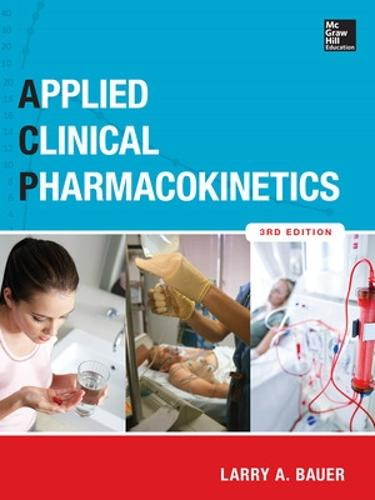 Applied Clinical Pharmacokinetics 3/E (Hardback)