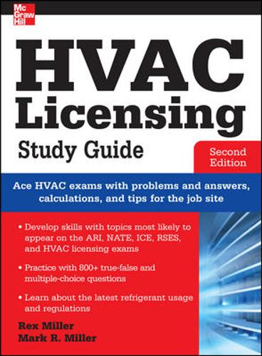 HVAC Licensing Study Guide, Second Edition (Paperback)