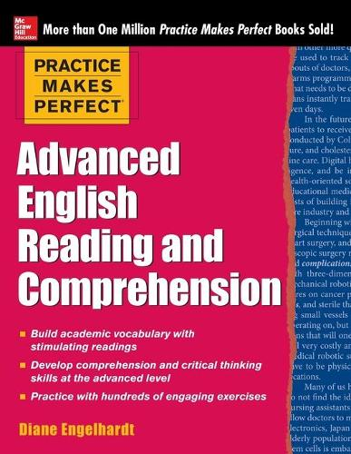 Practice Makes Perfect Advanced English Reading and Comprehension (Paperback)