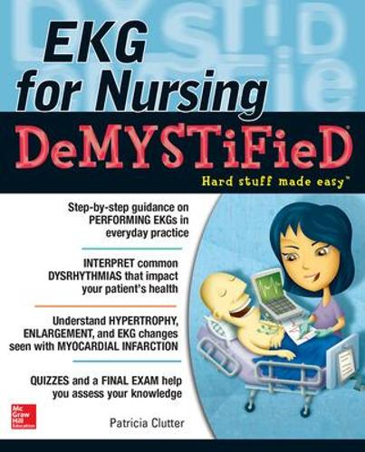 EKG's for Nursing Demystified (Paperback)