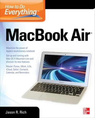 How to Do Everything MacBook Air - How to Do Everything (Paperback)