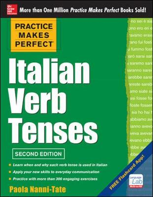 Practice Makes Perfect Italian Verb Tenses (Paperback)