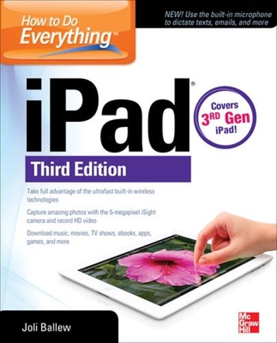 How to Do Everything: iPad: covers 3rd Gen iPad - How to Do Everything (Paperback)