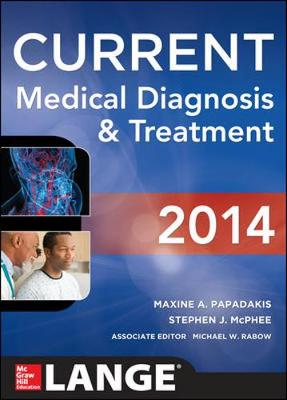 Current Medical Diagnosis and Treatment 2014 - Lange Current Series (Paperback)