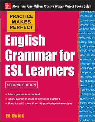 Practice Makes Perfect English Grammar for ESL Learners (Paperback)