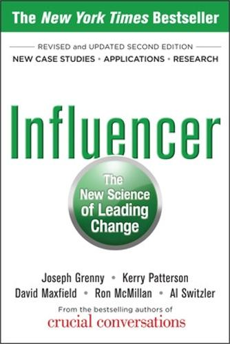 Influencer: The New Science of Leading Change, Second Edition (Paperback) (Paperback)