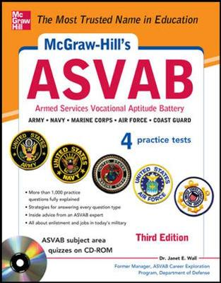 McGraw-Hill's ASVAB: Strategies + Quizzes + 4 Practice Tests