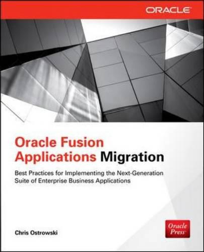 Oracle Fusion Applications Migration (Paperback)