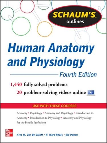 Schaum's Outline of Human Anatomy and Physiology (Paperback)