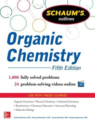 Schaum's Outline of Organic Chemistry (Paperback)