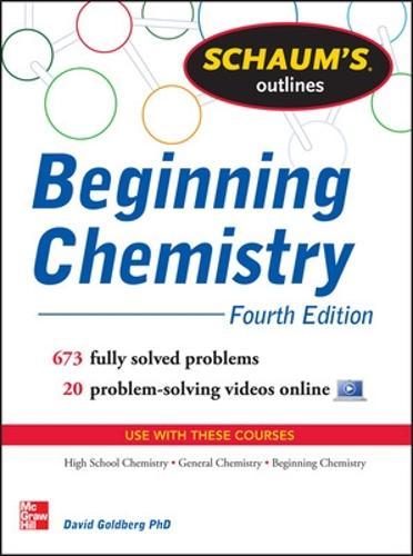 Schaum's Outline of Beginning Chemistry (Paperback)