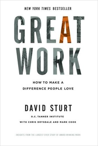 Great Work: How to Make a Difference People Love (Hardback)