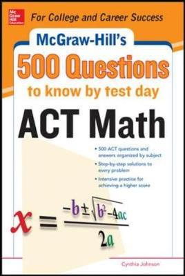 500 ACT Math Questions to Know by Test Day (Paperback)