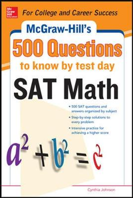 500 SAT Math Questions to Know by Test Day (Paperback)