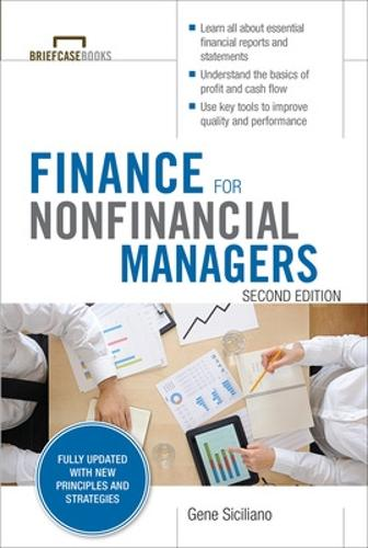 Finance for Nonfinancial Managers, Second Edition (Briefcase Books Series) (Paperback)