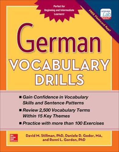German Vocabulary Drills (Paperback)