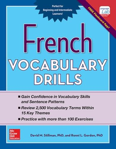 French Vocabulary Drills (Paperback)