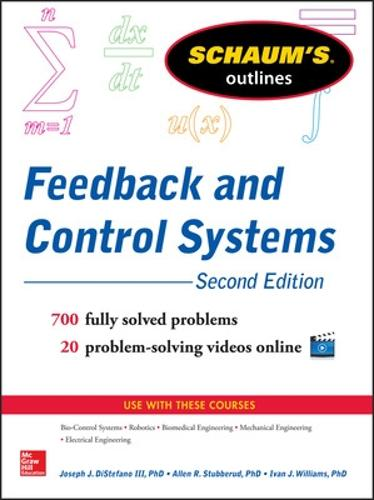 Schaum's Outline of Feedback and Control Systems (Paperback)