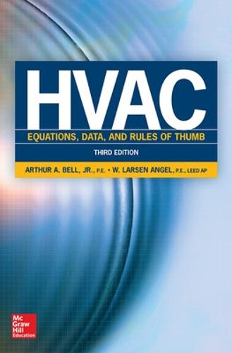 HVAC Equations, Data, and Rules of Thumb, Third Edition (Paperback)