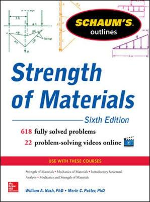 Schaum's Outline of Strength of Materials (Paperback)