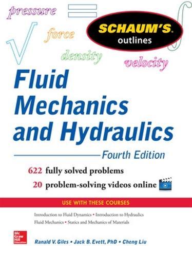 Schaum's Outline of Fluid Mechanics and Hydraulics (Paperback)