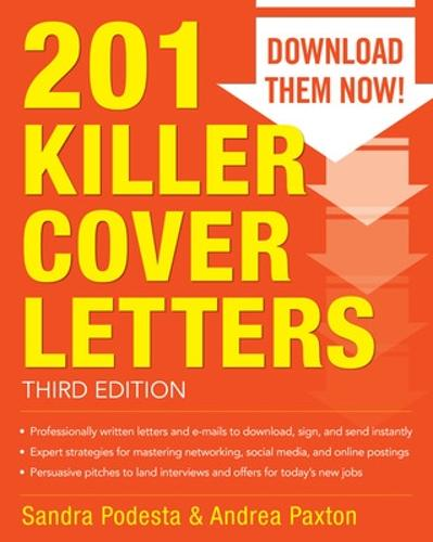 201 Killer Cover Letters Third Edition (Paperback)