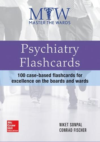 Master the Wards: Psychiatry Flashcards (Paperback)